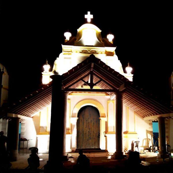 Church Facade – Private Chapel